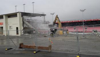 Triubunen på Brann Stadions sørside er snart historie