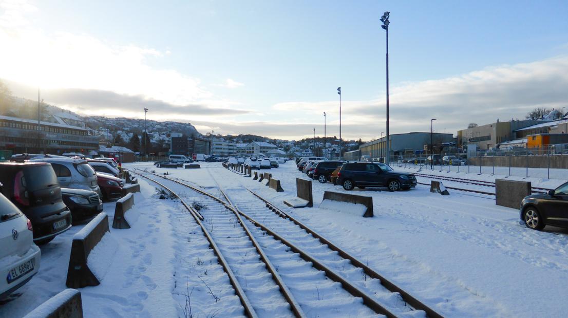 Jernbaneterminalen på Mindemyren må stå klar for Bybanen neste sommer