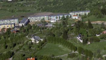 Foreslår fire blokker med 36 leiligheter ved Slettebakken hovedgård