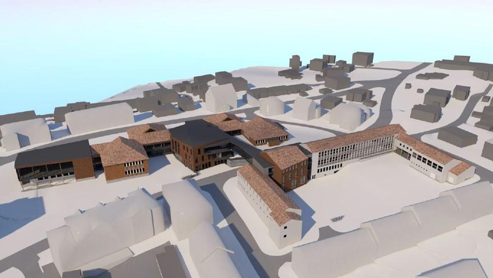 Kronstad og Hunstad skoler bygges sammen, får plass til 300 elever og 80 barnehagebarn