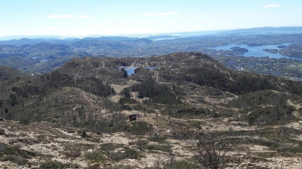 Plan klar for turvei over Landåsfjellet, men penger mangler