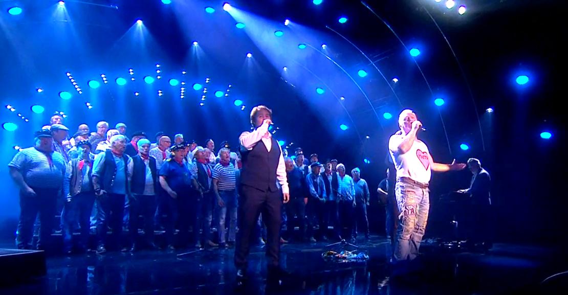 Fredag 18. mai kan Bergen Shantykor gå til topps i Norske Talenter