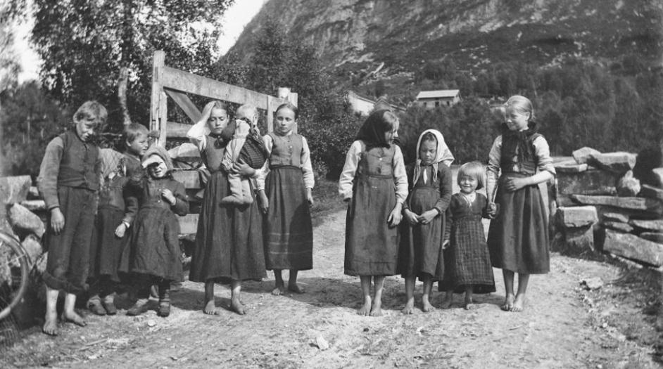 Bare hvert fjerde barn møtte opp i Årstads første faste skolehus