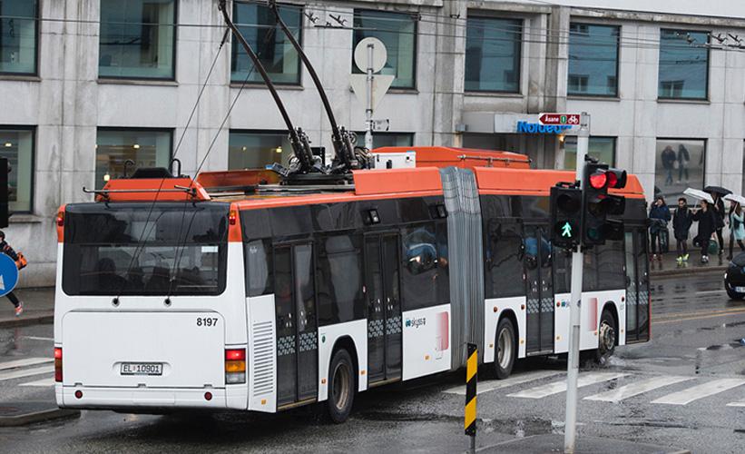 For første gang i Norge: selvladende busser til Birkelundstoppen