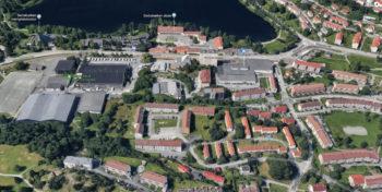 Byrådet vil flytte Landås bibliotek fra Landåstorget til Slettenområdet