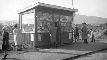 Da kioskene var et vanlig innslag i bybildet