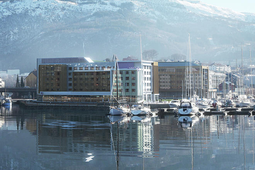 Nye hoteller i Solheimsviken: Citybox og Marriott Moxy