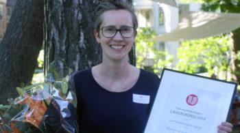 Randi Neteland vant Universitetsforlagets lærebokpris for 2018
