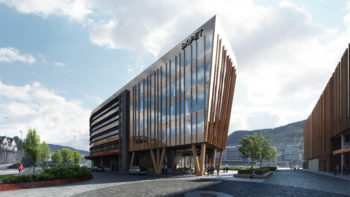 Ja til bygging av kontor- og forretningsbygget Skipet i Solheimsviken