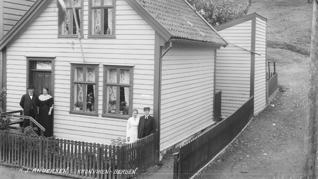 Hvem var «A. J. Andersen» fra Krohnviken?