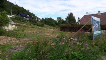 Femten boliger på to tomter ovenfor Kristianborg bybanestopp