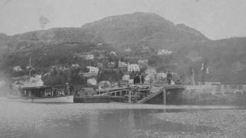 Da trikken kom til Haukeland i 1912, ble det slutt på femti års fergetrafikk
