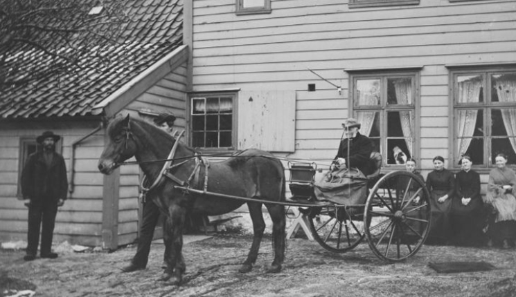 Andreas Christie - den siste bonden på Haukeland gård