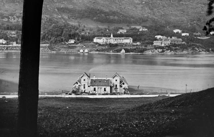 Bonges Badehus var Bergens første badeanstalt