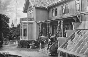 Han skjenket Musikkpaviljongen til Bergen kommune