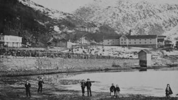 Ved Store Lungegårdsvann for nær 160 år siden