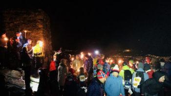 Fakkeltoget på Løvstakken søndag 25. november