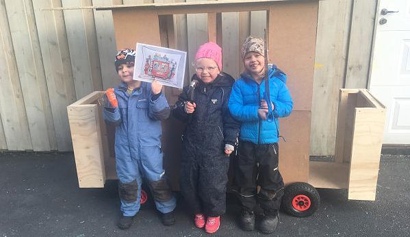 Ønsker malingrester og planker til Kardemomme by-prosjekt