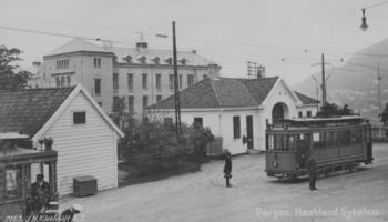 Trist jul for mange familier i Årstad i 1918