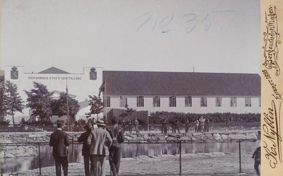 Marineholmen hadde Norges første publikumsakvarium