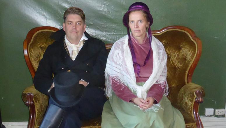 Teaterkurs og foredrag på Kronstad hovedgård