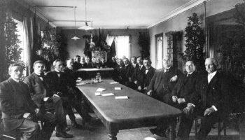 Siste møte i Årstad herredstyre