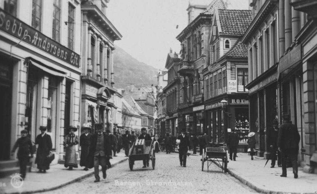 Bergen 1850 – 1920, konturene av et velferdssamfunn