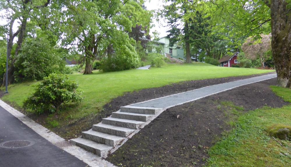 Betydelig oppgradering av Leaparken