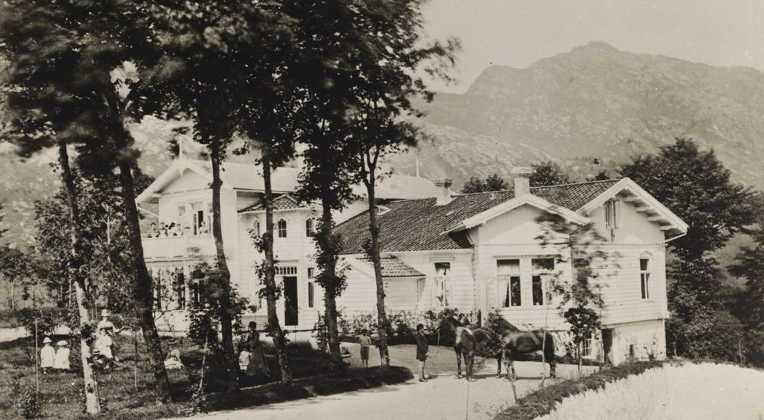 Gamlehaugens historie før Christian Michelsen