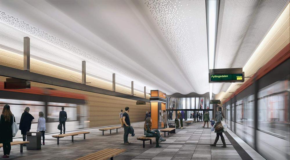 Haukeland blir Bybanens første underjordiske stasjon