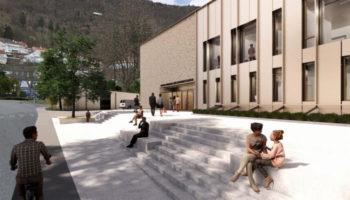 Lærerhøyskolebygget på Landås blir inkluderingssenter