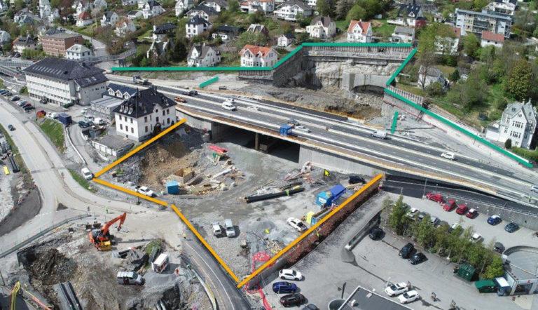 Nå starter sprenging av Fyllingsdalstunnelen fra Kristianborg