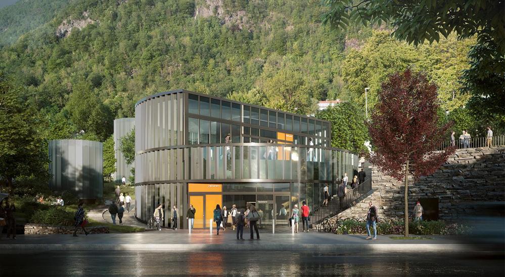 Veidekke skal bygge Haukeland sjukehus holdeplass
