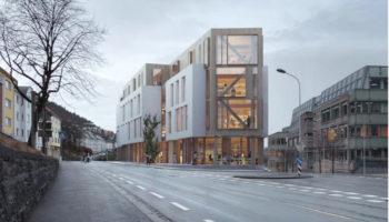Krohn'en – nytt kontorbygg på 6200 kvm mellom Damsgårdsveien og Michael Krohns gate