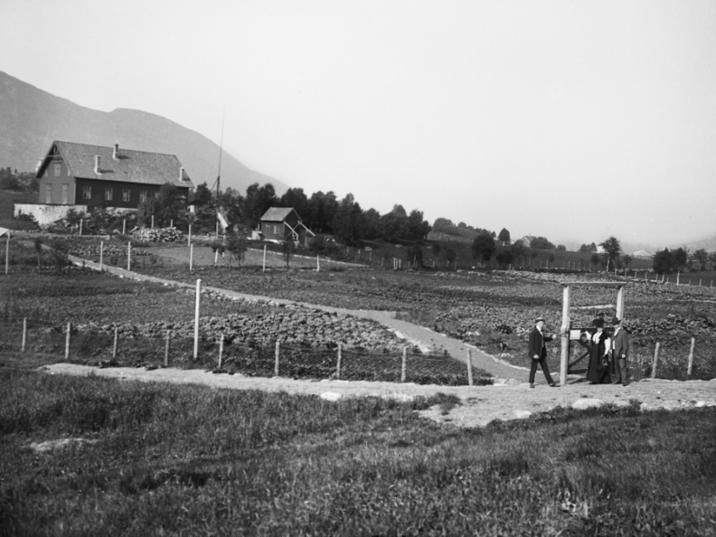 Tysker kjøpte land og anla gartneriet Bremen, gartneren stakk til Amerika med pengene