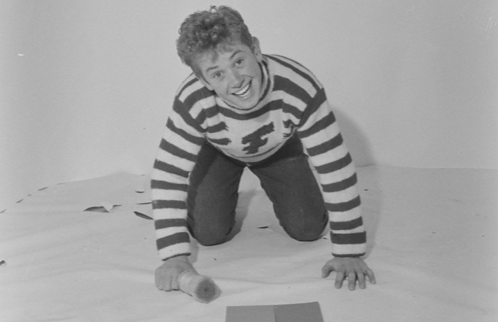 Landås-gutten som skulle erobre verden som Bob Bergen