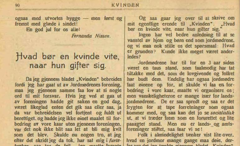 Mor og datter var pionerer som jordmødre og politikere i Årstad