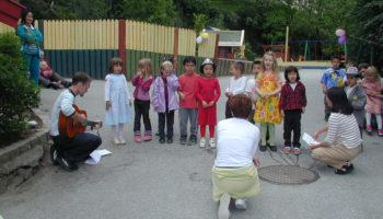 Kunstprosjekt i Søre Skogvei barnehage 2001-02