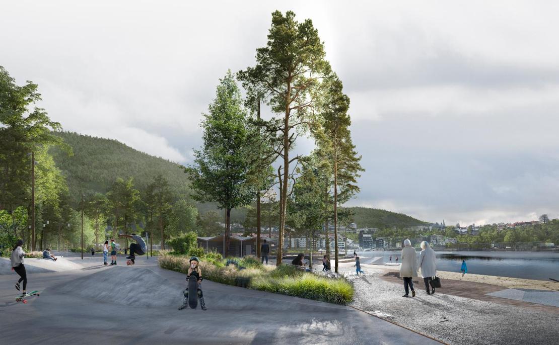 Bystrand og Lungegårdspark klar om tre-fire år