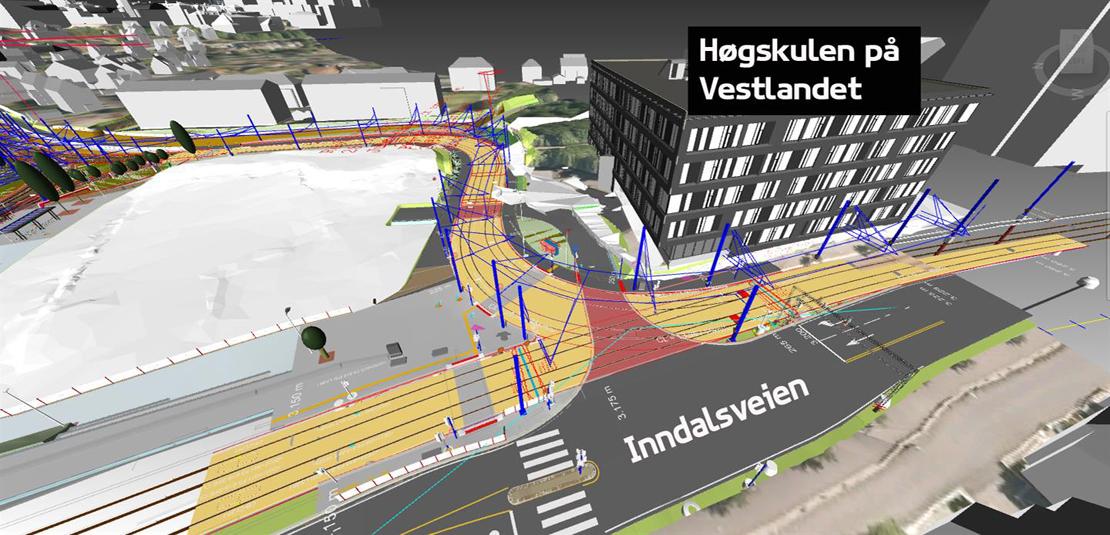 I sommer kobles bybanelinjene sammen på Kronstad
