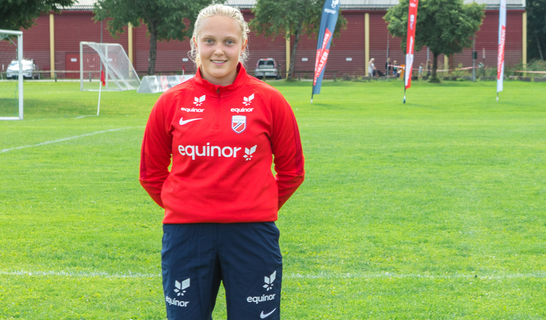 AnnaNigardsøy (15)fra Baune på Equinors talentleir for jenter