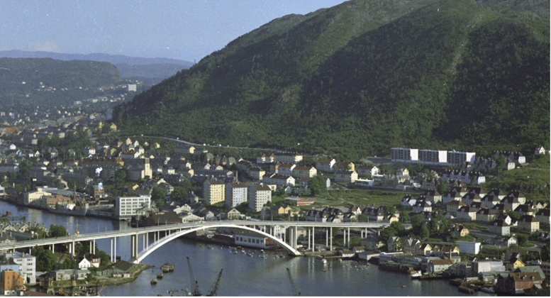 Gyldenpris-området sommeren 1962