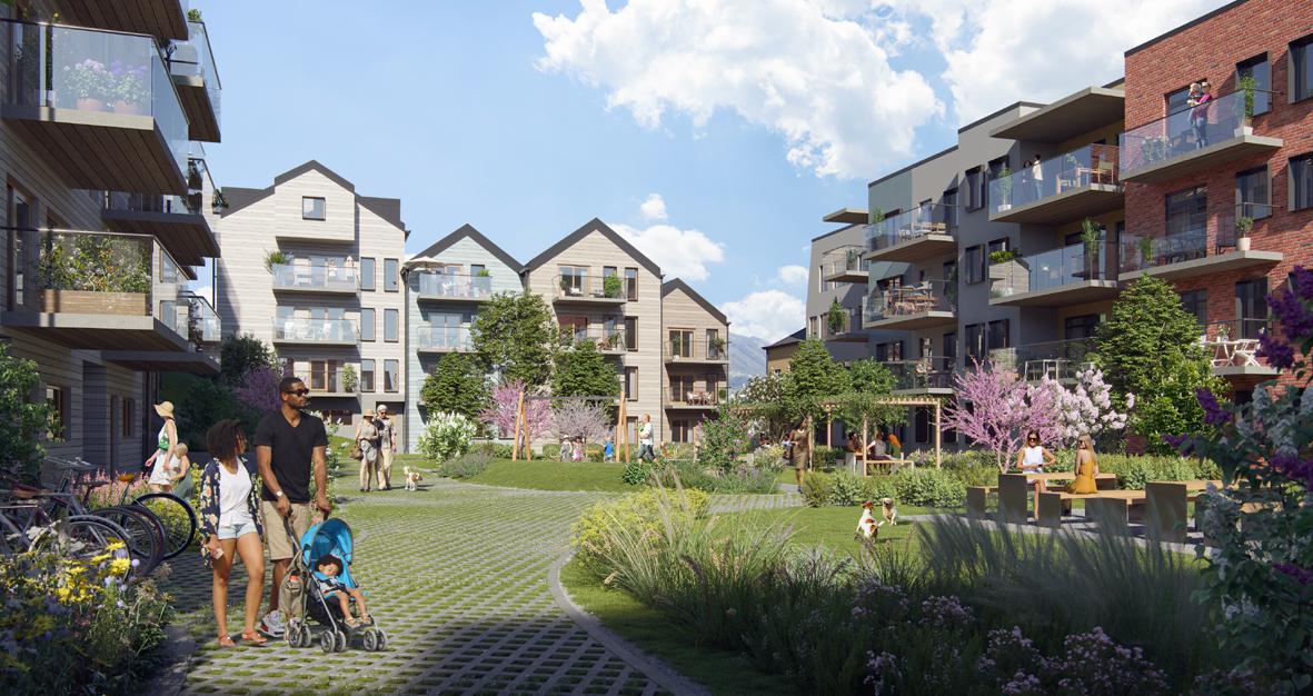 Miliarium Bolig skal bygge 175-200 boliger på Kristianborg