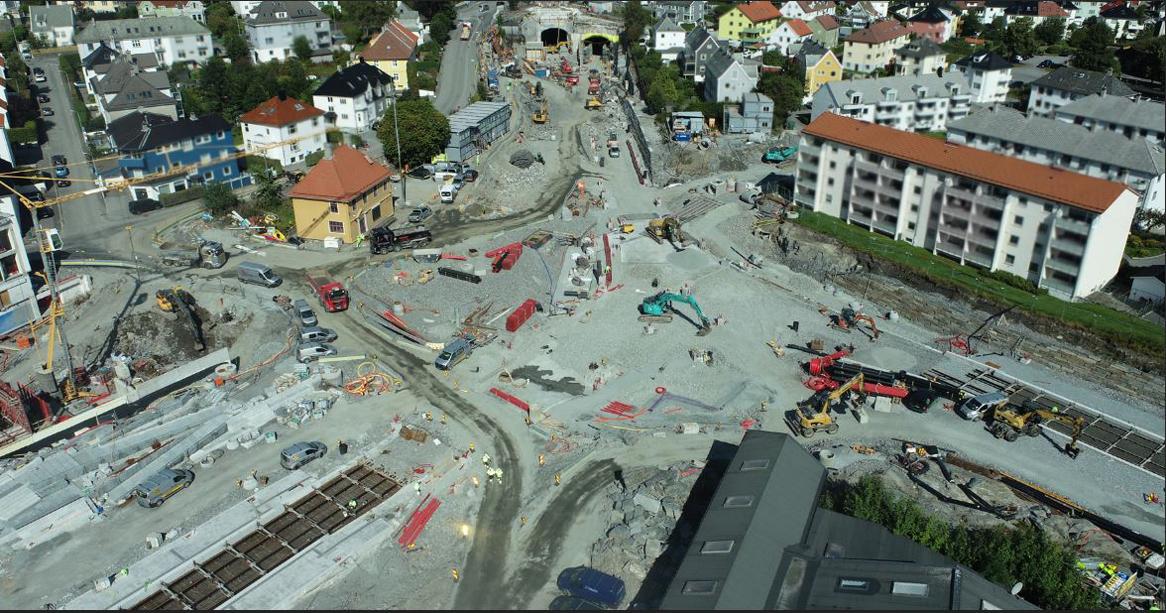 Store bybaneprosjekter i Kronstad-området